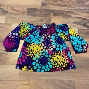 Carter's 12m Long Sleeve Floral Top